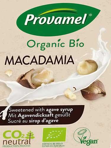 Provamel macadamia beverage
