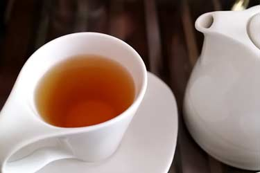 cup of tea with pot