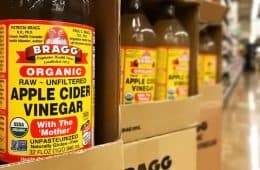Bragg cider vinegar bottles