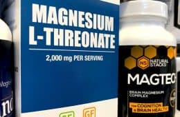 Magtein and Mercola magnesium l threonate brands sold at store