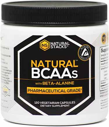 Natural Stacks BCAA capsules