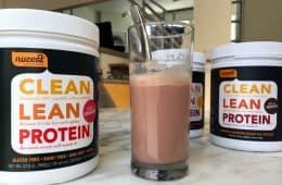 photo of Nuzest Clean Lean Protein flavors