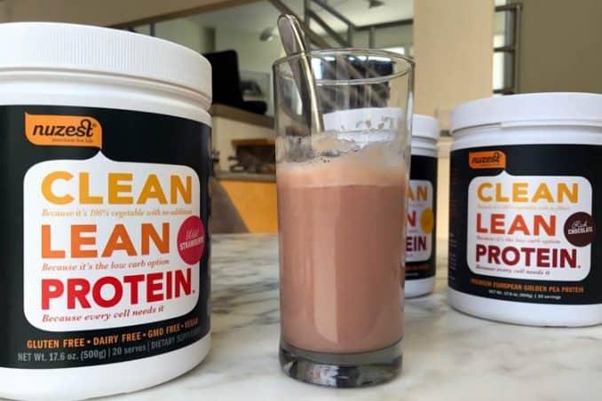 photo of Nuzest Clean Lean Protein flavors