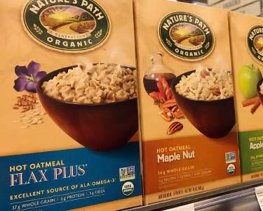 oatmeal flavors