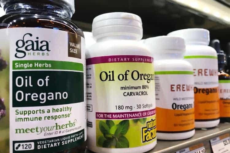 oil of oregano capsule brands
