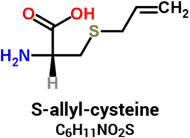 molecular formula and chemical structure of S-Allyl-L-cysteine