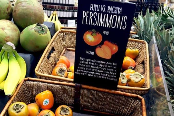 Hachiya vs. Fuyu persimmon