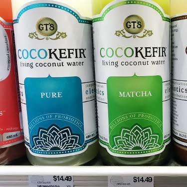 GT Cocokefir price of $15 at grocery store