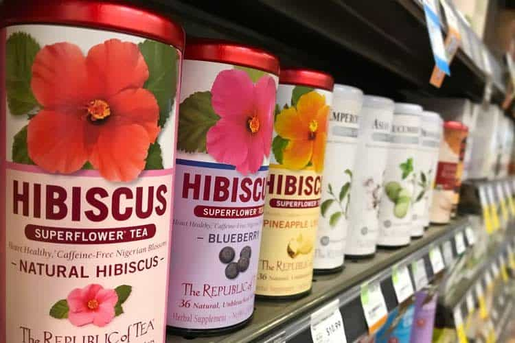 hibiscus tea brands at supermarket