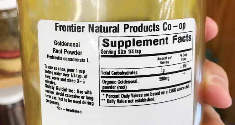 Golden Seal Drug Test Maple Suyrup Diet
