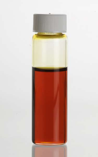 vial of pure patchouli oil