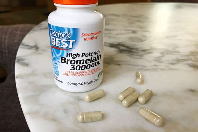 Doctor's Best brand of high potency bromelain