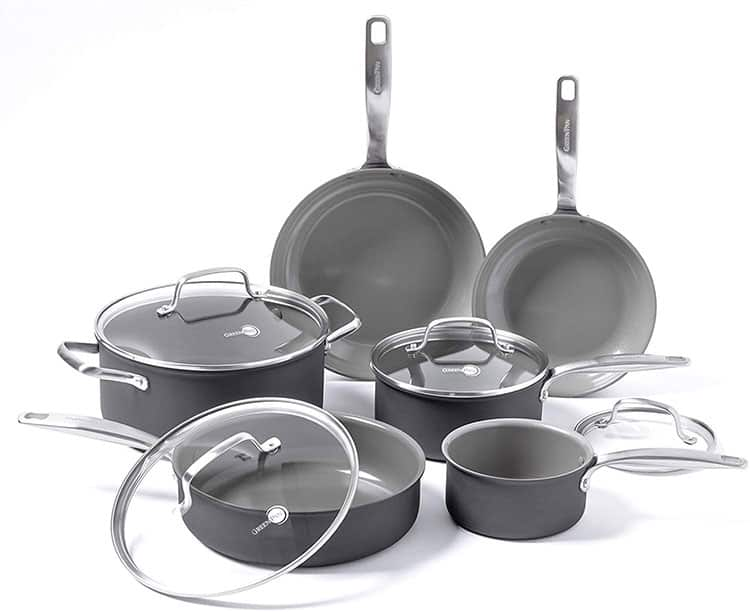 Greenpan Chatham 10-piece set