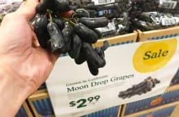 fresh moon drop grapes