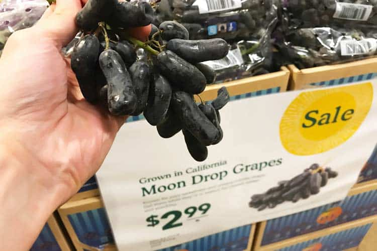 fresh moon drop grapes