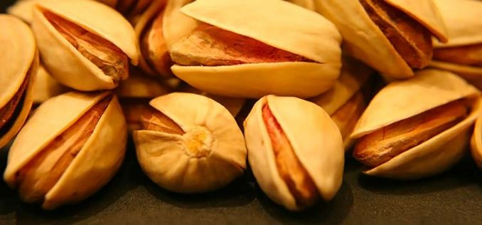 what pistachios from Iran look like