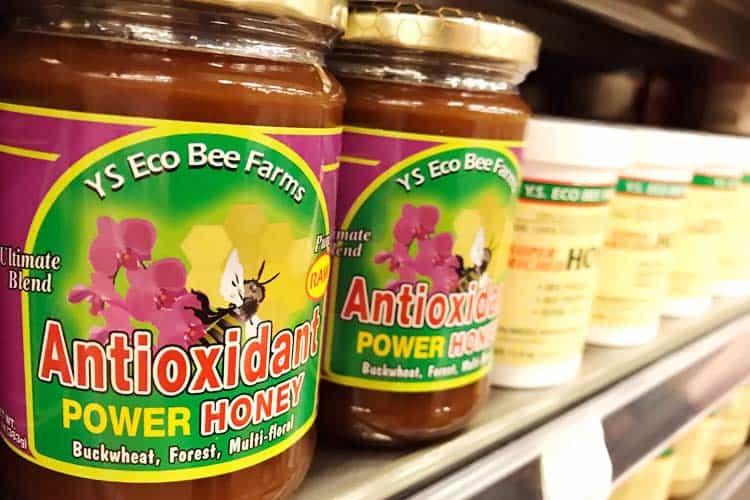 antioxidant honey