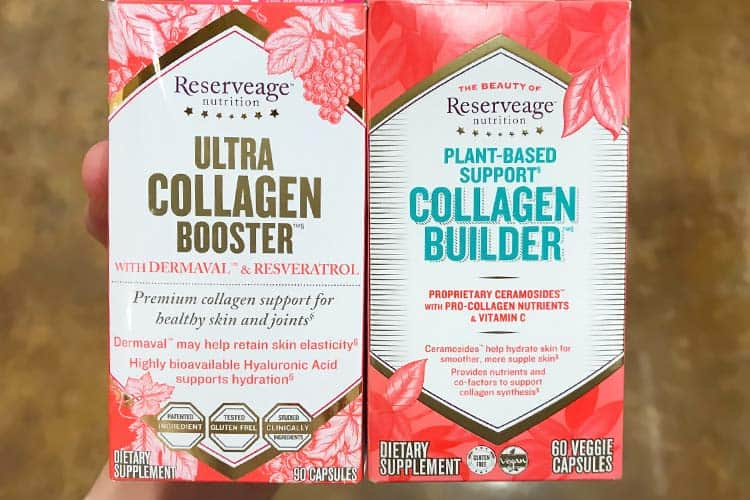 Reserveage Ultra Collagen Booster and Plant-Based Collagen Builder