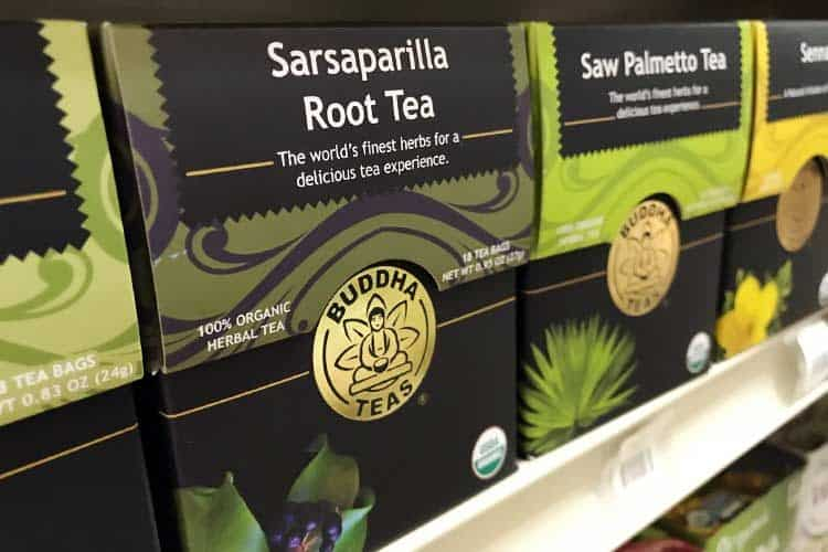Buddha sarsaparilla root tea