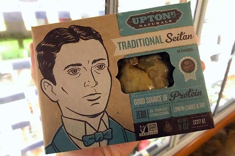 Upton's Naturals brand of seitan protein