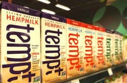Tempt hemp milk at Whole Foods