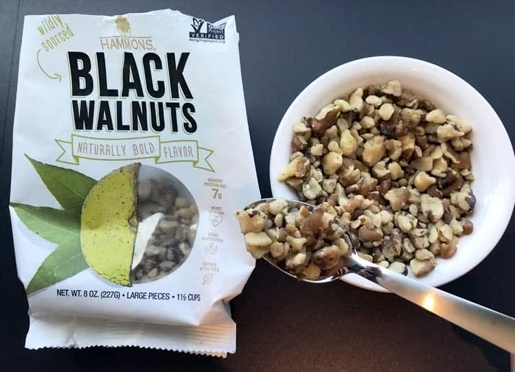 Hammons black walnuts