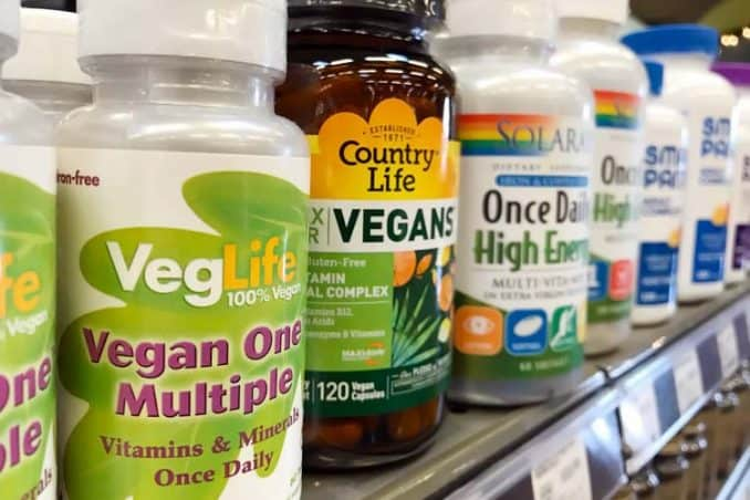 different brands of vegan multivitamins