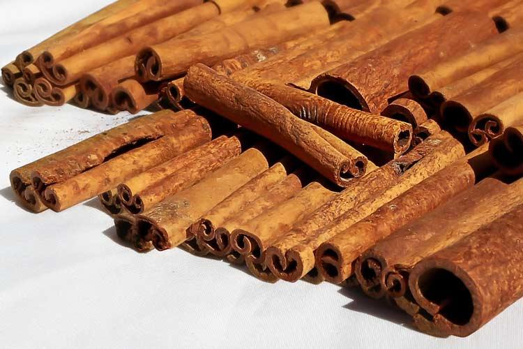 whole sticks of cinnamon