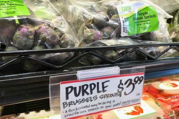 Trader Joe's selling Brussels sprouts that are purple