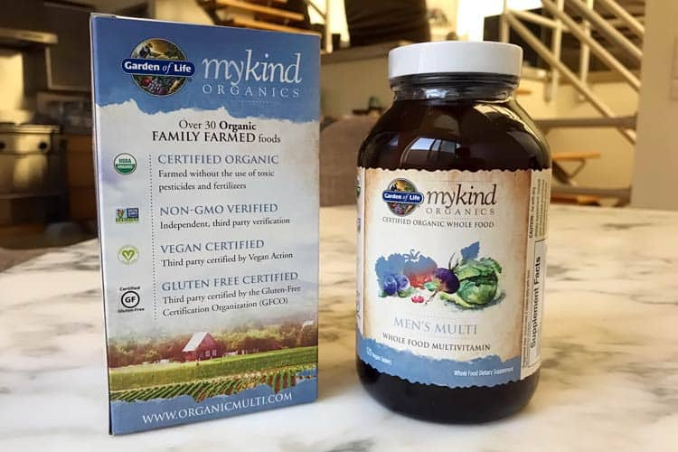 myKind Organics men's once or twice daily multivitamin