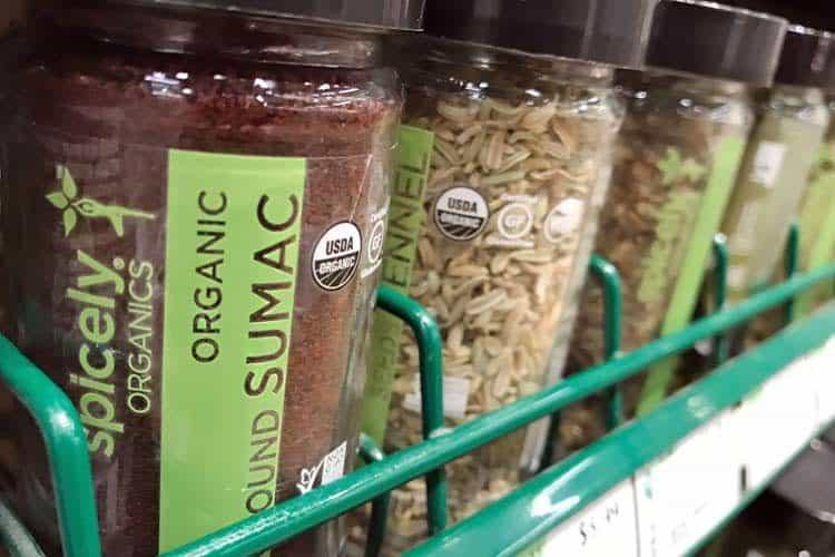 organic sumac spice