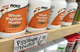 ole psyllium husks supplement