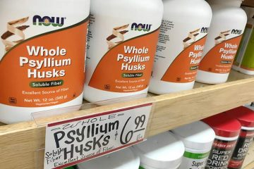 ole psyllium husks supplement