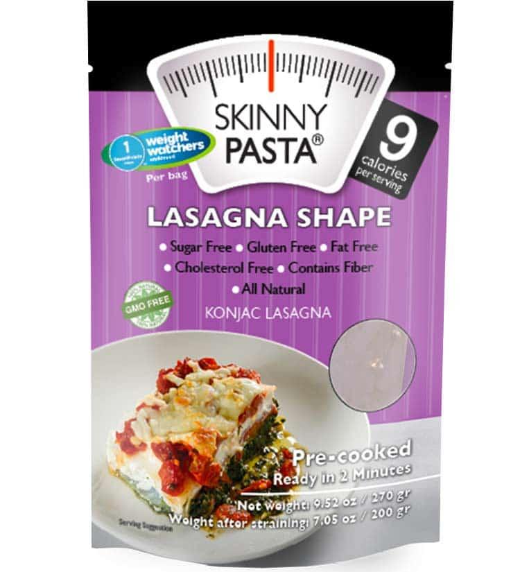 Skinny Pasta lasagna