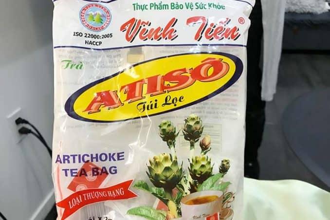 Vinh Tien artichoke tea bags