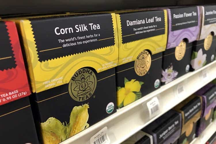corn silk tea bags