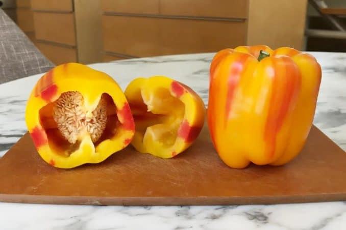 what inside of Enjoya pepper looks like