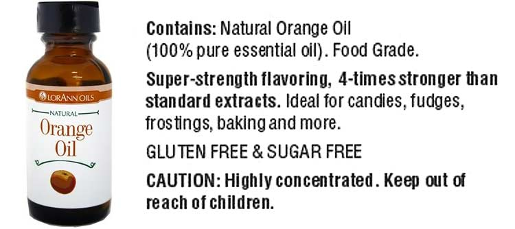 LorAnn orange oil ingredients and instructions for use