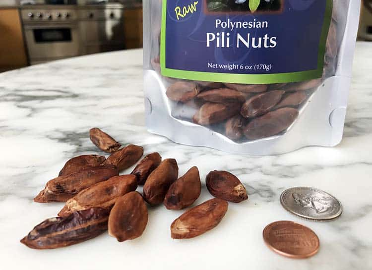 raw pili nuts