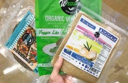 brands of GF low carb vegan wraps