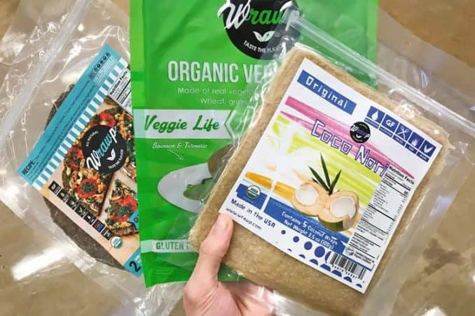 brands of GF low carb vegan wraps