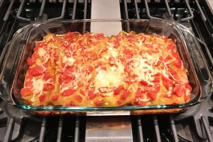 cooked gluten free lasagna