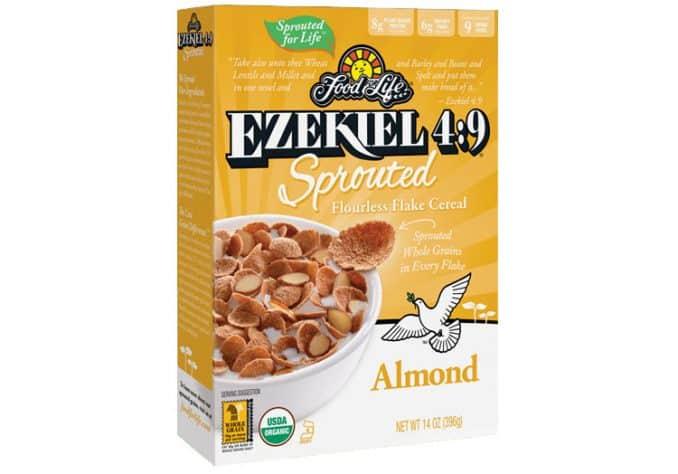 Ezekiel 4:9 sprouted flourless almond flakes