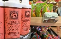 Trader Joe's fruit and vegetable wash