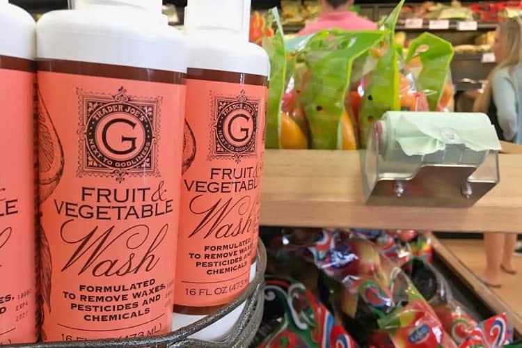 Trader Joe's fruit and vegetable wash