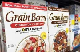 Grain Berry cereal with Onyx sorghum at Walmart