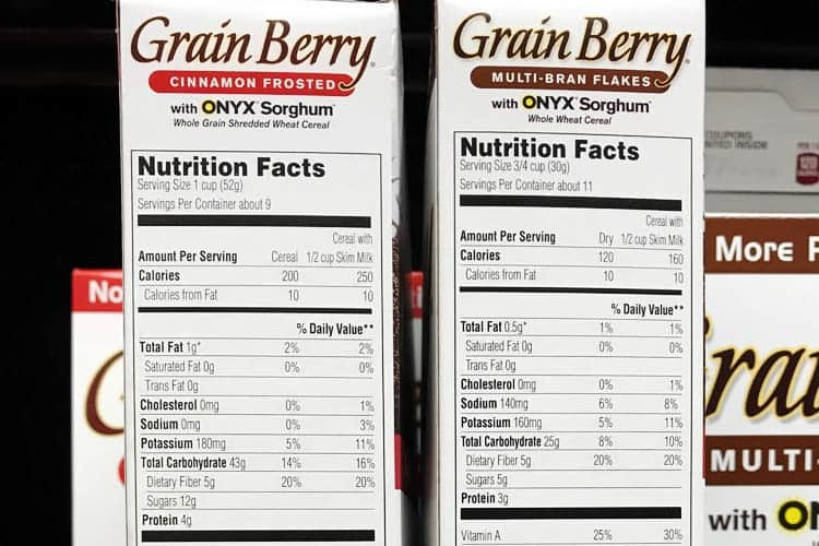 Grain Berry nutrition facts