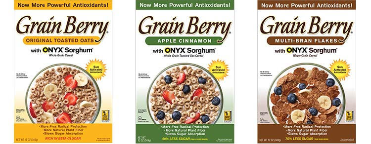 Grain Berry cereal flavors