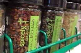 organic Sichuan peppercorn