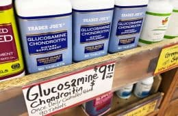 Trader Joe's glucosamine chondroitin supplements